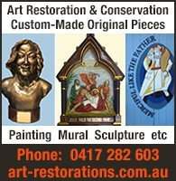 Art Restoration, Conservation and Commissions